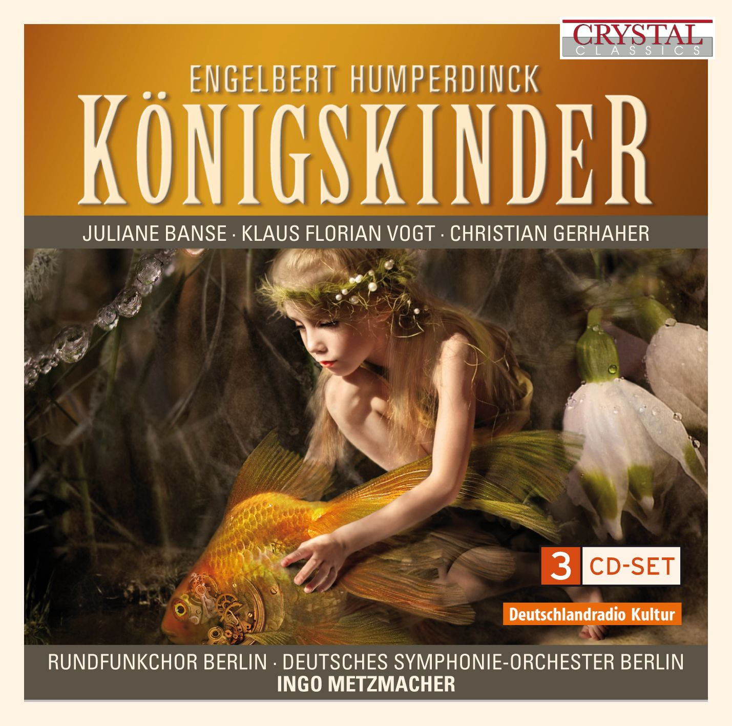 Koenigskinder ENGELBERT HUMPERDINCK CD Cover