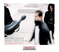 BONNARD-TRIO-Mendelssohn CD Cover
