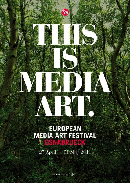 European Media Art Festival Plakat