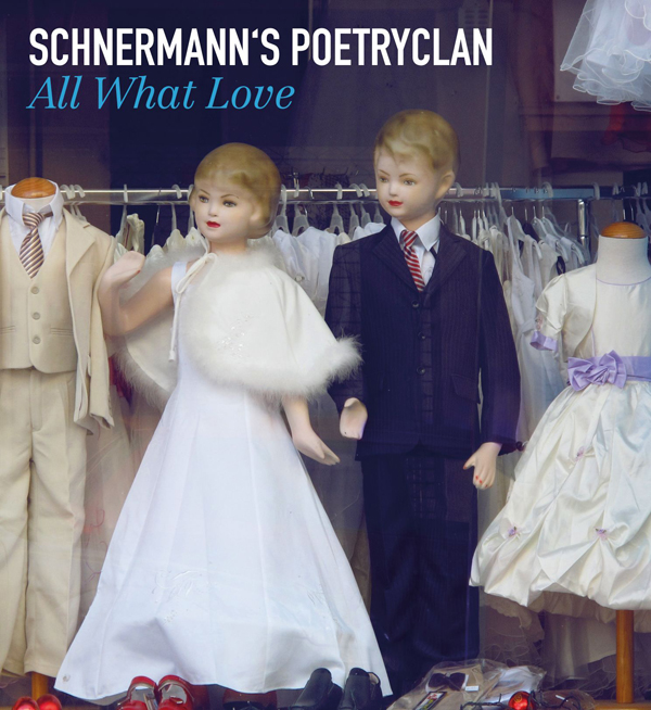 "Schnermann''s Poetryclan ""All What Love"" CD Cover"