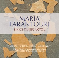 Maria Farantouri sings Taner Akyol Cd Cover