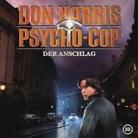 "Don Harris – 10 ""Der Anschlag"" CD Cover"