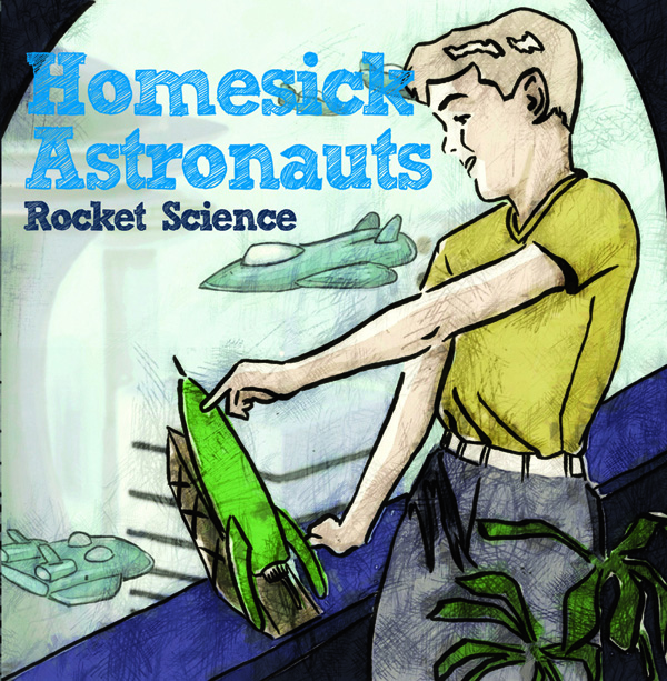 HOMESICK ASTRONAUTS CD Cover Artwork