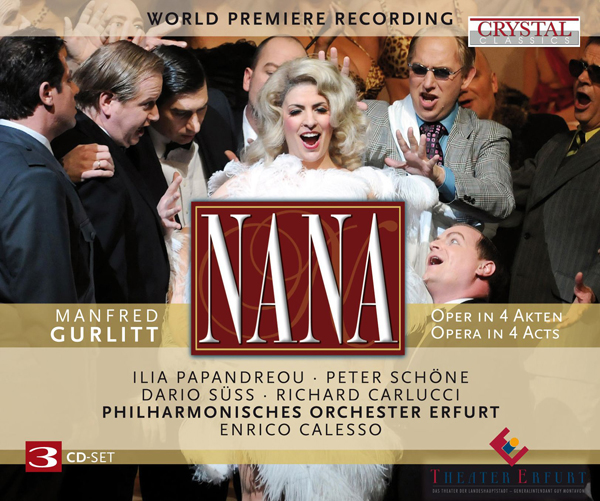 Nana Klassik Oper CD Cover