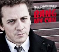 "Pascal Schumacher Quartet - ""BANG MY CAN"" CD Cover"