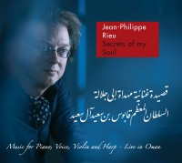 "Jean-Philippe Rieu – ""Secrets Of My Soul"" CD Cover Artworx"