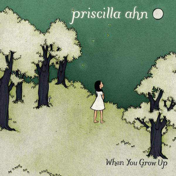 """Priscilla Ahn – """"When You Grow Up"""" CD Cover"""