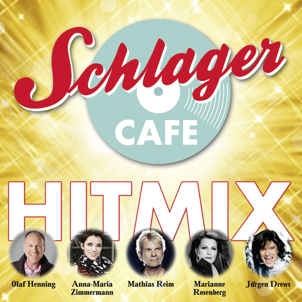 Schlager CAFE Hitmix CD Cover
