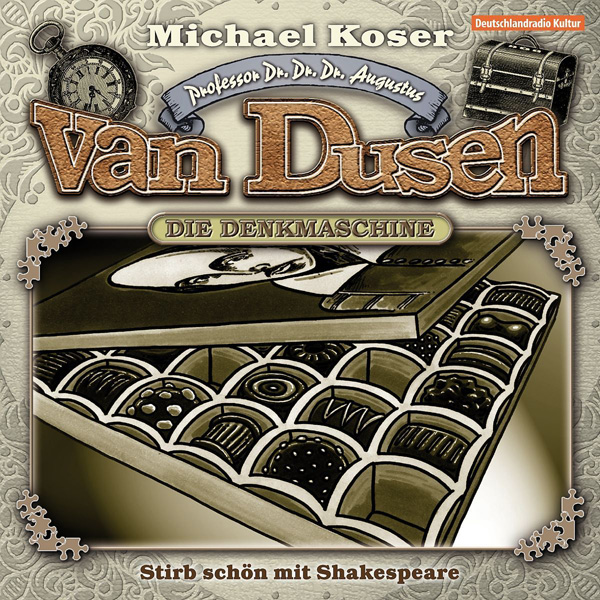 Van Dusen – Die Denkmaschine Cover