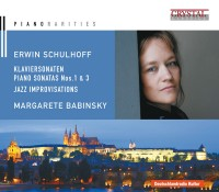 Erwin Schulhoff CD Cover Artwork