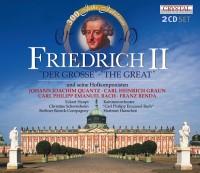 """FRIEDRICH II """"DER GROSSE"""" und seine Hofkomponisten Cover CD"""