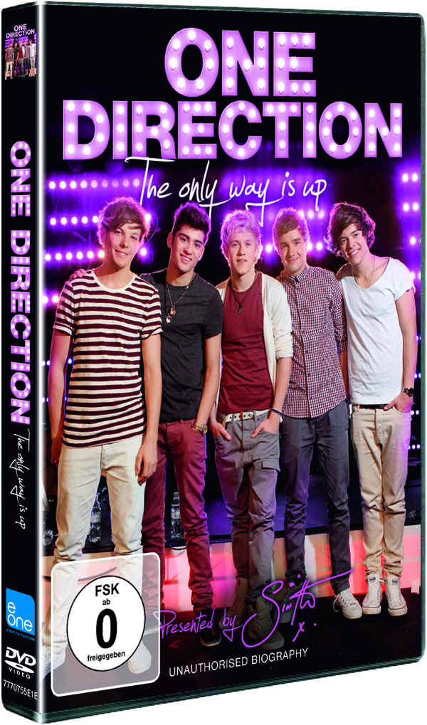ONE DIRECTION: THE ONLY WAY IS UP DVD