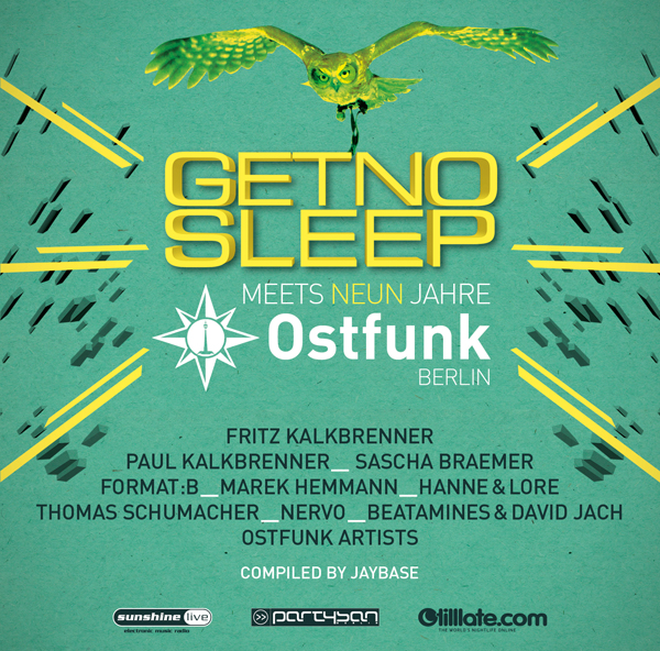 Get No Sleep meets Ostfunk Berlin (9 Years)