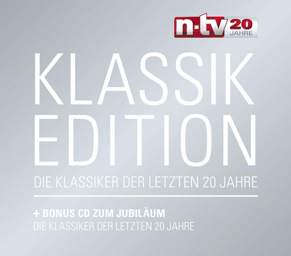 """""""n-tv Klassik Edition"""" - Zum 20-jährigen Geburtstag"""