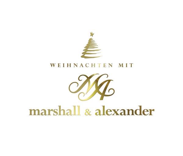 """Marshall & Alexander """"Frohe Weihnachten"""""""