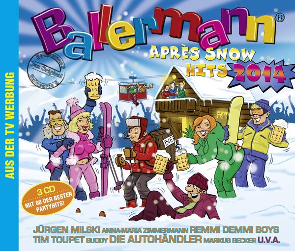 BALLERMANN APRÈS SNOW HITS 2014