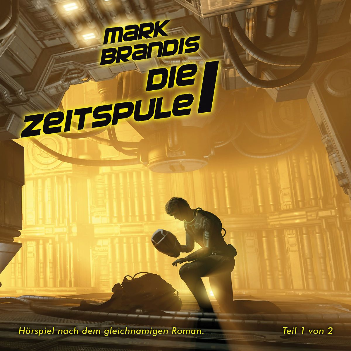 "Science Fiction-Hörspiel MARK BRANDIS Doppelfolge 28 + 29: ""Die Zeitspule"""