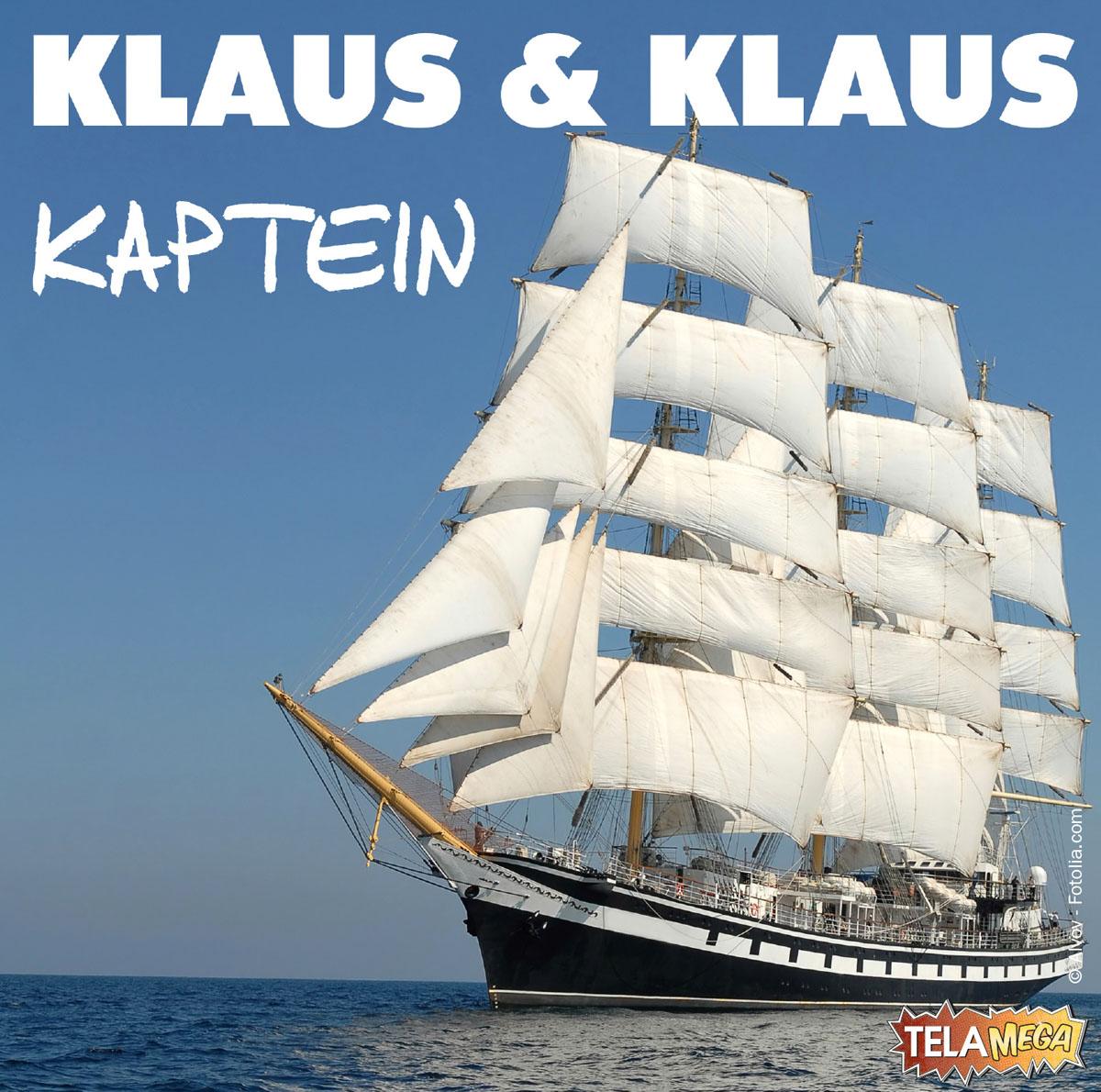 """Gerade haben Klaus & Klaus ihre neue Single """"Kaptein"""" veröffentlicht."""