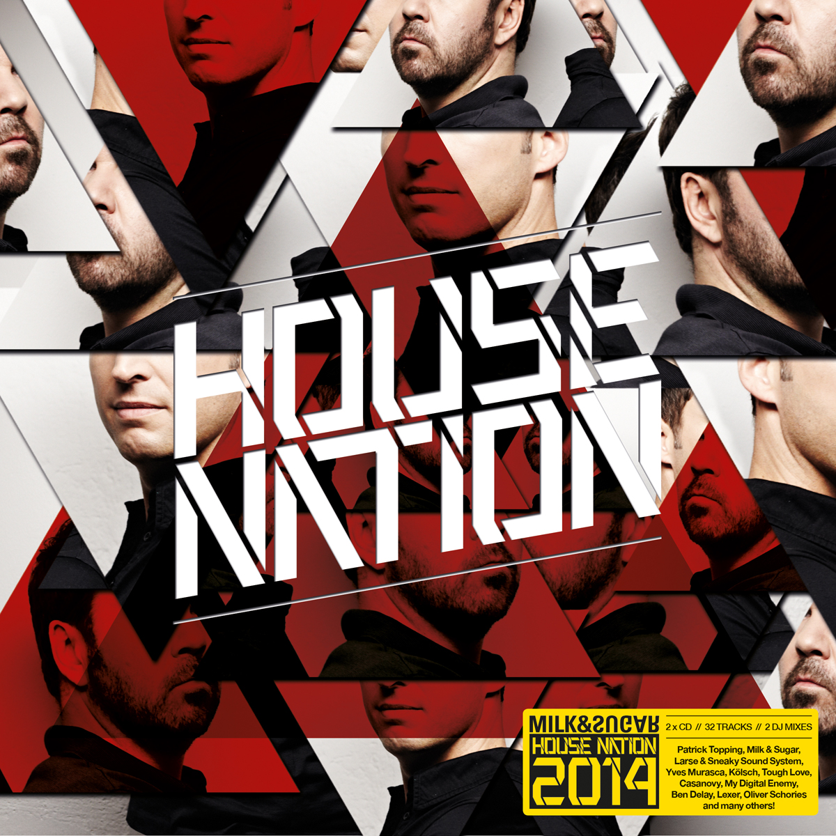 MILK&SUGAR HOUSE NATION TOUR & CD 2014