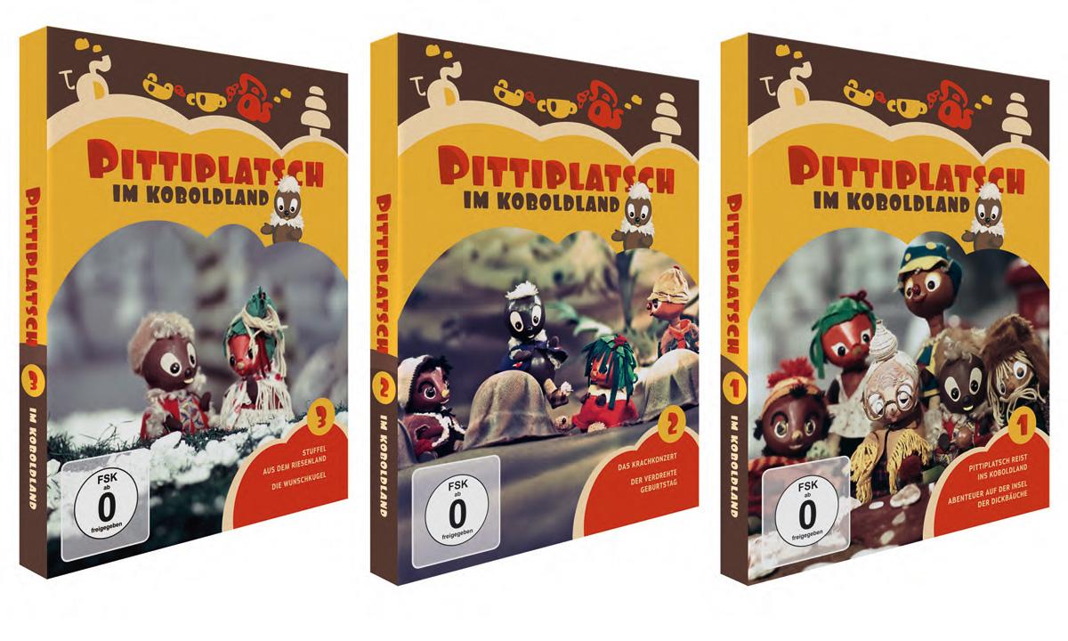 """""""Ach, Du meine Nase..."""" - Pittiplatsch im Koboldland auf DVD"""