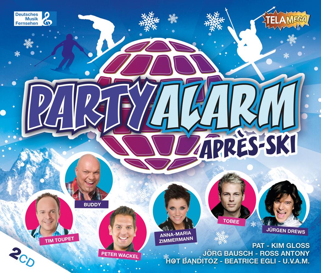 PARTY ALARM Après Ski - Der Soundtrack für die Pisten-Saison