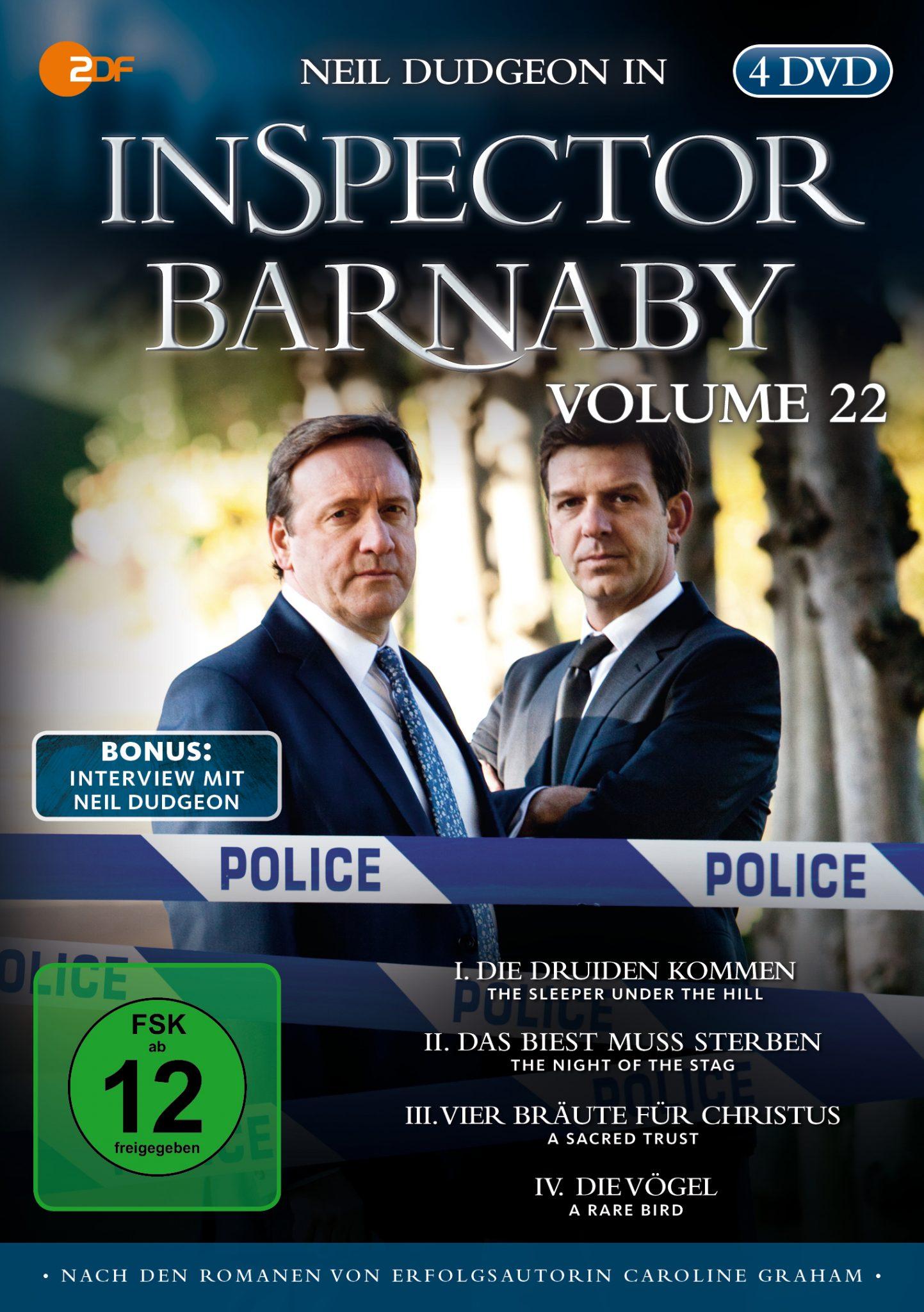 """Ab 23. Januar vier neue Fälle mit Neil Dudgeon in """"Inspector Barnaby Vol. 22"""" auf DVD und Blu-ray!"""