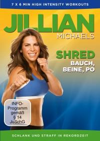 """Jetzt stellt Jillian Michaels mit """"Shred – Bauch, Beine, Po"""" ihre neue Workout-DVD vor, mit der die Problemzonen der Frau in Rekordzeit gestrafft werden."""