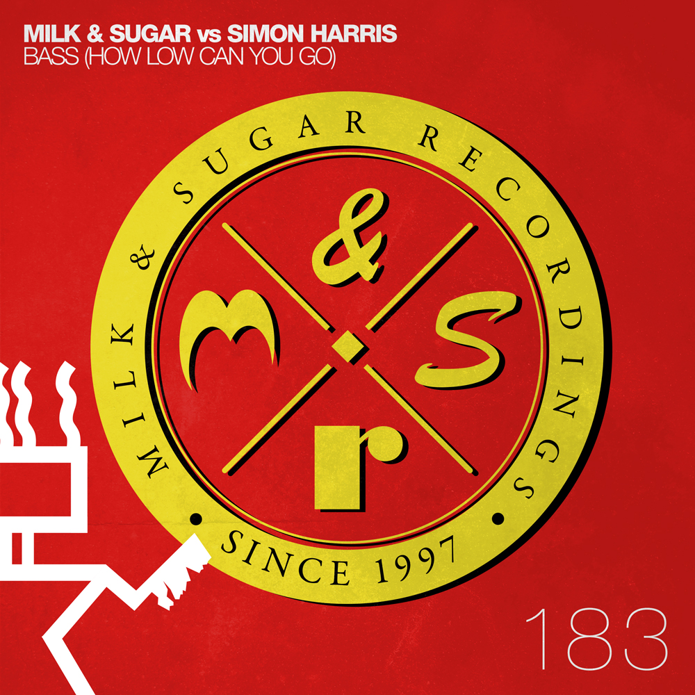 MILK&SUGAR vs Simon Harris 'Bass (How Low Can You Go)'