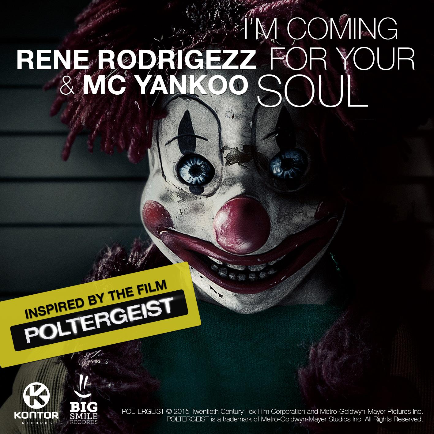 Rene Rodrigezz & MC Yankoo Single zum Kinostart von POLTERGEIST!