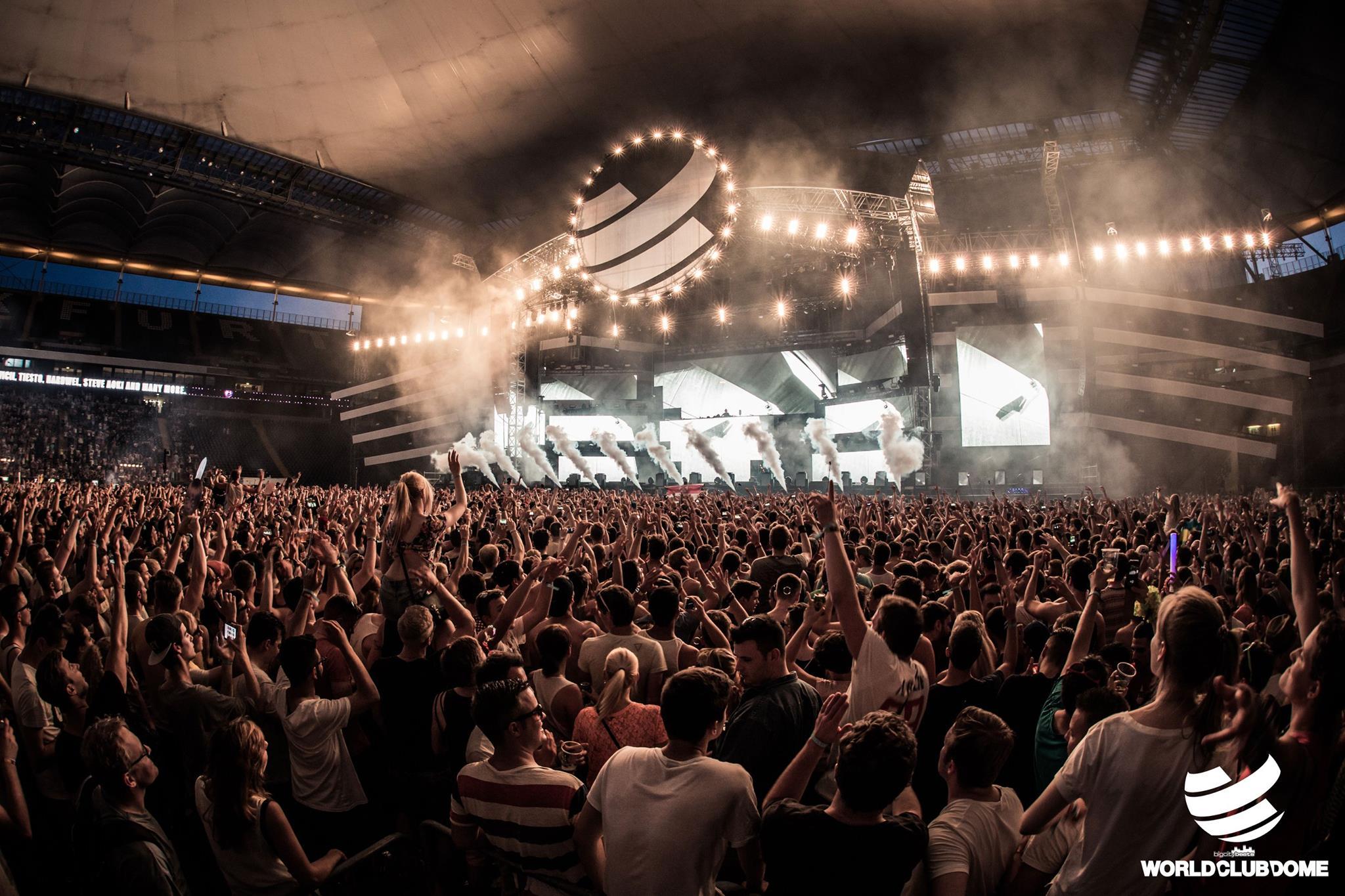 Über 100.000 Fans beim BigCityBeats WORLD CLUB DOME - Schon jetzt Vorverkaufsrekord für 2016!