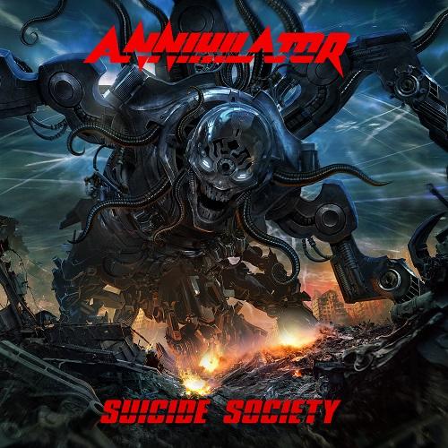 "ANNIHILATOR ""SUICIDE SOCIETY"""