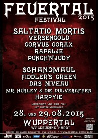 Feuertal Festival 2015 mit u.a. Saltatio Mortis,