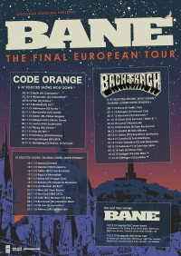 East Coast Hardcore-Institution BANE kündigt letzte Europa-Tour an!