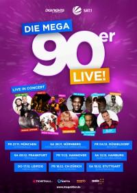 DIE MEGA 90ER - LIVE! Deine Stars der 90er Jahre live on Tour