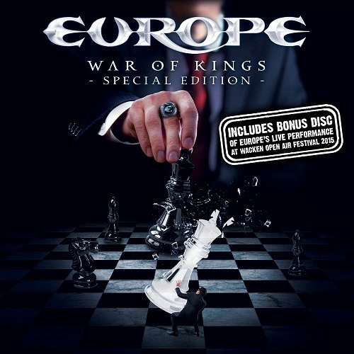 """EUROPE - """"War of Kings"""" Special Edition inkl. DVD"""