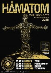 """Hämatom – neues Album """"Wir sind Gott"""""""