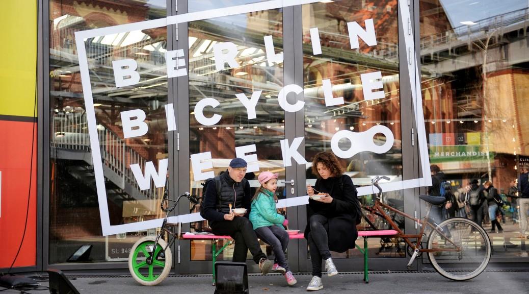 BERLIN BICYCLE WEEK vom 14 - 20 März // Alles rund um das Fahrrad