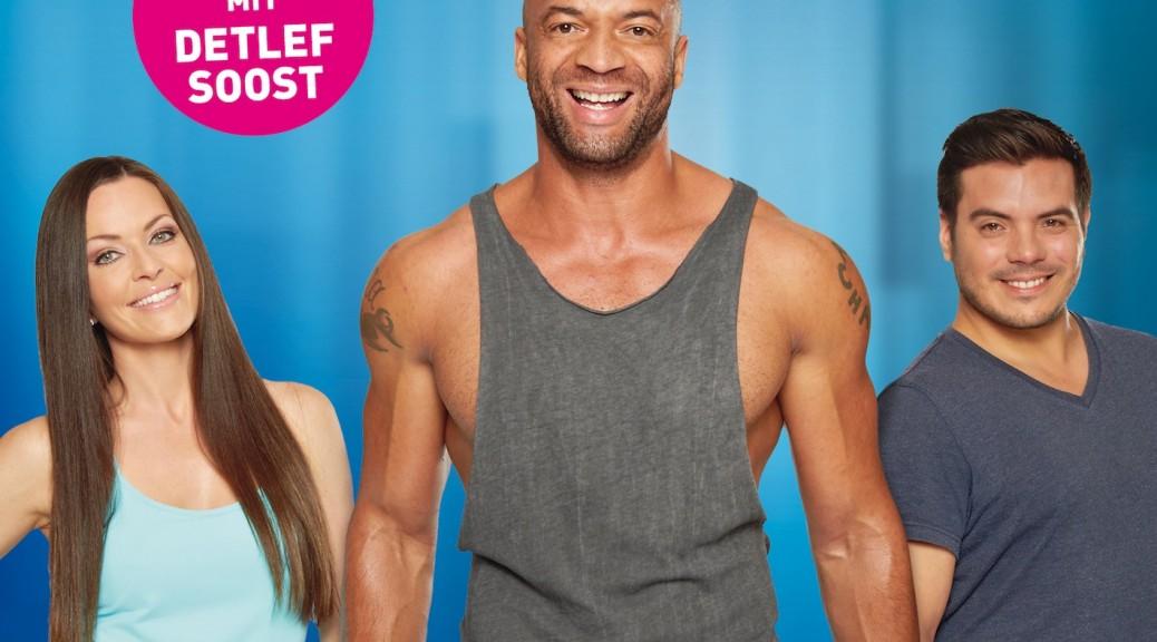 """Nach der äußerst erfolgreichen DVD """"Tanz dich fit"""", von der über 20.000 Einheiten verkauft wurden, präsentiert Deutschlands Fitness-Guru und Motivator Detlef Soost jetzt das neue Workout-Vergnügen Shape`n`Dance."""