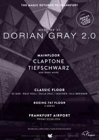 Dorian Gray 2.016 Der BigCityBeats WORLD CLUB DOME und Fraport lassen das Airport-Clubbing erneut aufleben
