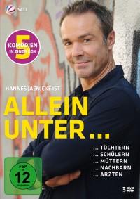 """""""Allein unter...""""-Reihe mit Hannes Jaenicke in einer 3-DVD-Box"""