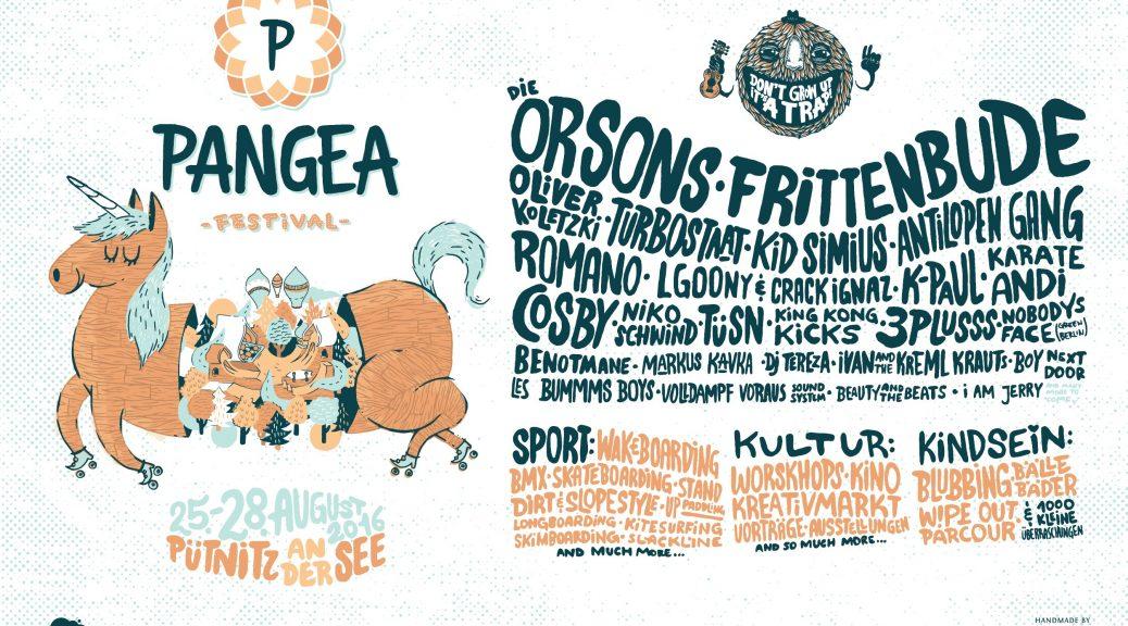Das Pangea Festival finalisiert das diesjährige Festival-Line-up!
