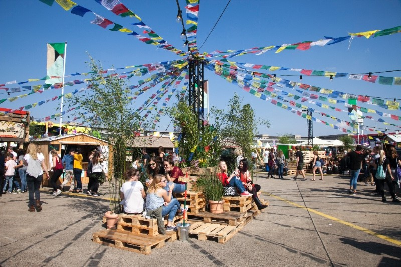 Lollapalooza: Startschuss für den Grünen Kiez 2016