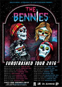 The-Bennies-euro-tour-poster
