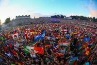 Tomorrowland-Flags