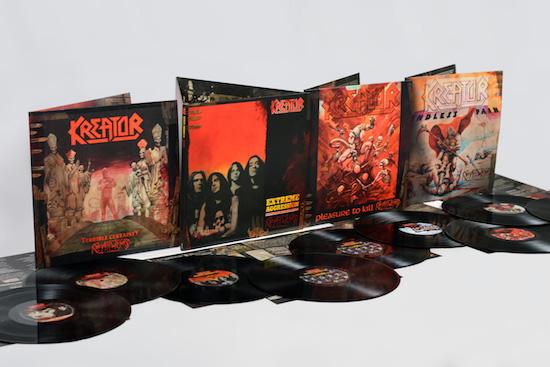 Kreator veröffentlichen ihre vier Klassiker-Alben aus den 1980er Jahren in aufwendiger Form wieder