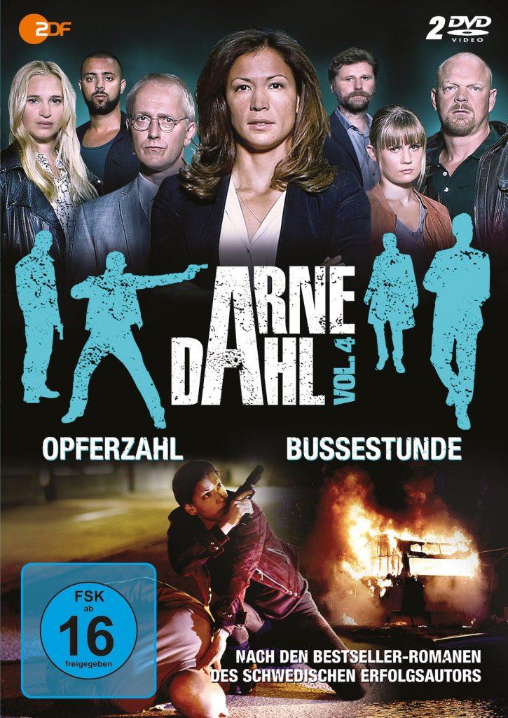 Bombenterror in der U-Bahn und bizarre Morde an Frauen erschüttern Stockholm - Arne Dahl Vol. 4