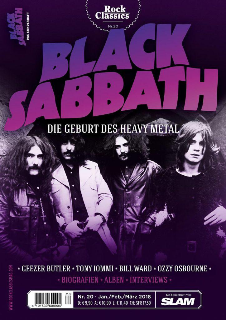 BLACK SABBATH - Das Sonderheft ab 6. Dezember überall im Zeitschriftenhandel