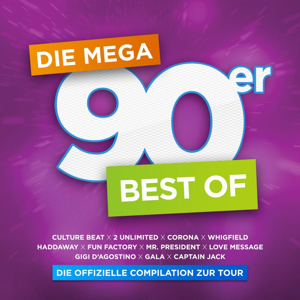 V.A. DIE MEGA 90ER - BEST OF