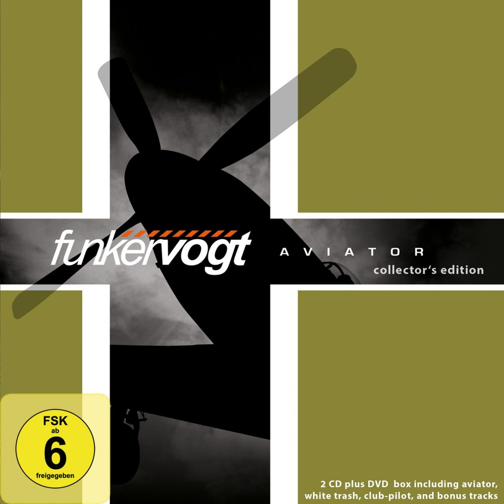 Funker Vogt - Aviator Collector's Edition (2CD+1DVD) - Out 02.03.18