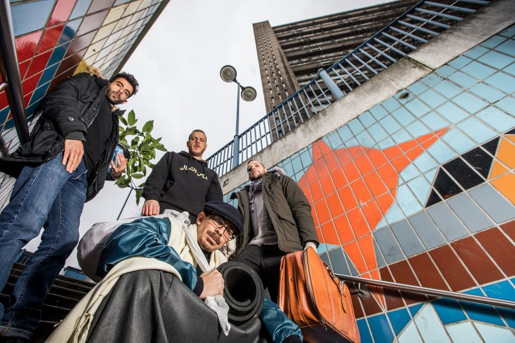 47SOUL - elektronisch-arabischen Dabke-Band mit high-energy Shamstep und politischer Message